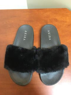 Faux Slippers