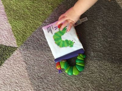 The hungry caterpillar chew book