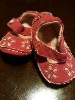 shoes slip ons girl size 2 Infant baby
