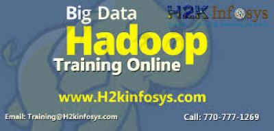 HADOOP Online Coaching with live-projects & Job support by H2K Infosys.