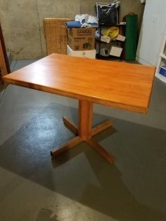 Butcher Block Dining Table - 4.5 x 2.5 ft
