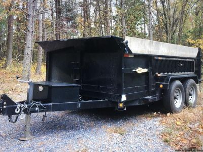 Griffin trailer 10 gauge sides and floor