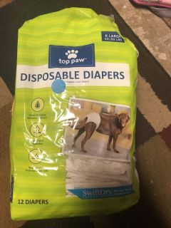 XL dog diapers