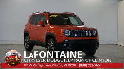 2017 Jeep Renegade Latitude (Orange)