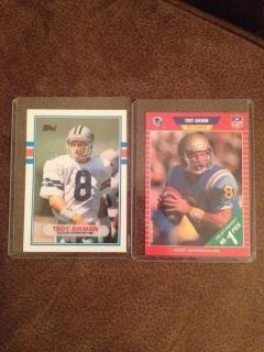 1989 Troy Aikman RC