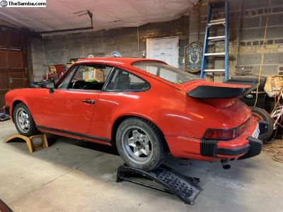 1975 Porsche 911 rolling chassis complete