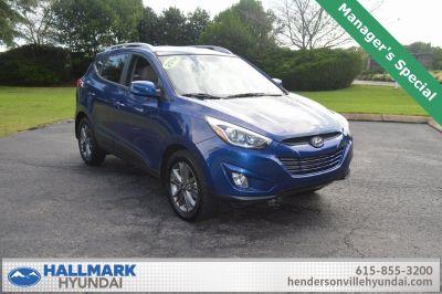 2014 Hyundai Tucson Limited (laguna blue metallic)