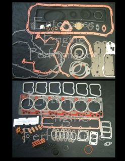 Purchase Dodge Cummins 5.9L 12V 6BT Diesel Upper Cylinder Head & Lower Oil Pan Gasket Set motorcycle in Thornville, Ohio, United States, for US $259.70