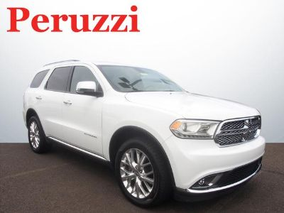 2014 Dodge Durango Citadel (Bright White Clear Coat)