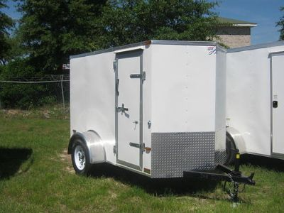 ENCLOSED 5X8 - 6X12 HORTON TRAILERS MANY ...