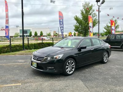 2013 Honda Accord Sport (Crystal Black Pearl)