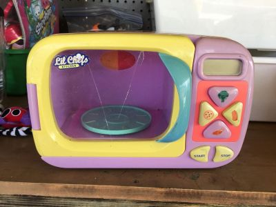 Kids toy microwave