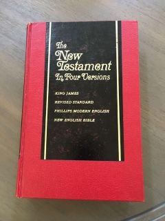 New Testament in 4 versions
