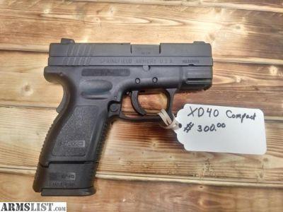 For Sale: XD .40
