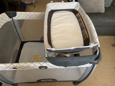 Pack n play - changing table attachment