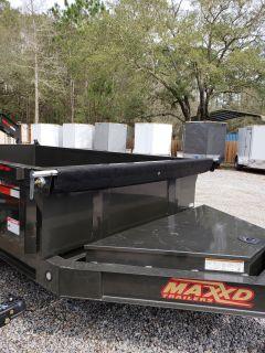 "2019 MaxxD Trailers 12' X 83"" - MAXXD 83"" I-Beam Dump Dump Trailers Lacombe, LA"