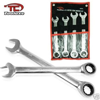 Buy JUMBO 4pc MM RATCHET Auto Wrench Automotive Tool Ratcheting Wrenches Set motorcycle in Chino Hills, California, US, for US $34.95