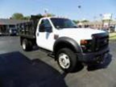2008 Ford F-550 XL Ford F-550 4x4 Flatbed Stakeside 24k Miles Powerstroke Diesel