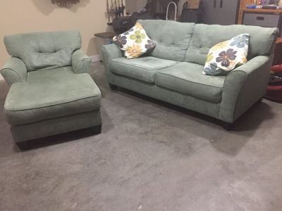 Couch and chaise