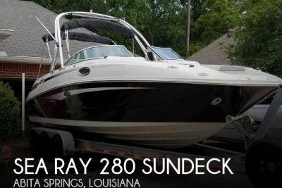2010 Sea Ray 280 Sundeck
