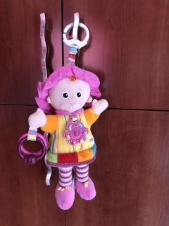 Lamaze My friend Emily on the go first baby doll