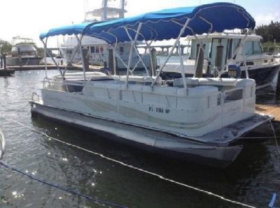 *~sKGqA8A 2008 22ft Bentlley pontoon boat 4 stroke.8*Mf5BGO