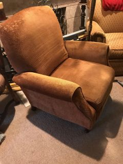 Recliner - Chenille Golden Brown Shimmer