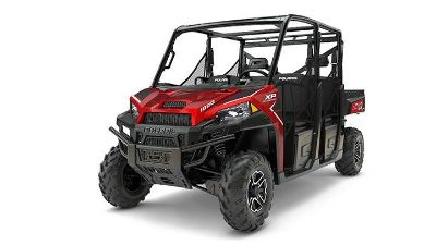 2017 Polaris Ranger Crew XP 1000 EPS Side x Side Utility Vehicles Union Grove, WI