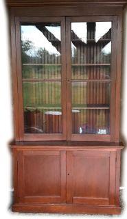 Tall Vintage Stepback Cabinet