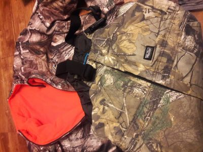 REDUCED Hunting youth overalls and jacket