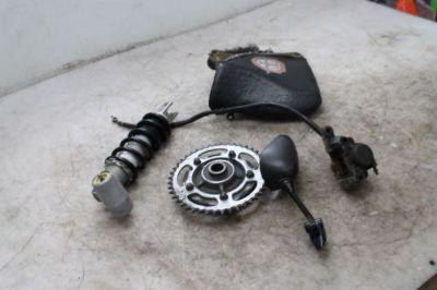 Purchase 2001 SUZUKI GSXR750 GSXR 750 PARTS LOT SHOCK CUSH DRIVE MIRROR CALIPER SEAT motorcycle in Dallastown, Pennsylvania, United States, for US $35.00