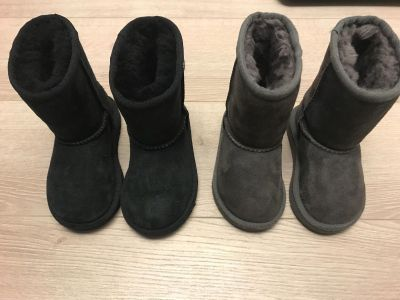 UGG TODDLER BOOTS size 6 and 7