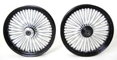 Purchase BLACK MAMMOTH FAT 52 SPOKE WHEELS 18x3.5 & 18x5.5 HARLEY 2008-2015 FLSTF FATBOY motorcycle in Huntington Beach, California, United States, for US $1,109.99