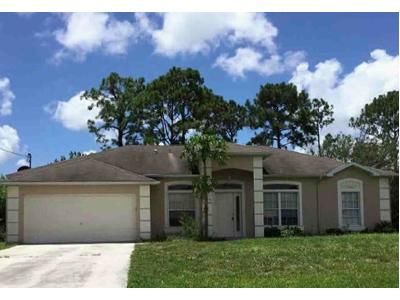 3 Bed 2 Bath Foreclosure Property in Port Saint Lucie, FL 34984 - SW Essex Dr