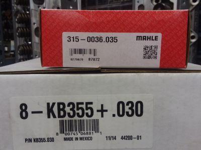 SBF 302 stroker 331 Keith Black kb355 Pistons w/ Mahle rings