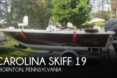 2012 Carolina Skiff DLV198