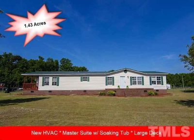 100 Suttontown Road Mount Olive, 1953 SF Three BR/Two BA