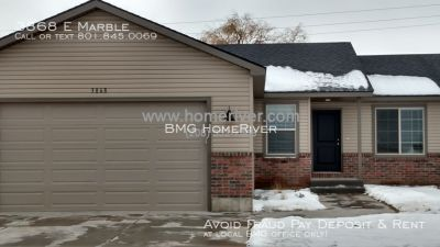 NEW Dec 2015 3 bed 2 bath twin home in Ammon by BMG Rentals