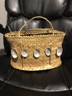 Homemade purse with shells
