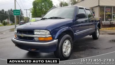 2001 Chevrolet S-10 LS (Space Blue Metallic)
