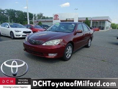 2005 Toyota Camry LE V6 (SALSA RED PEARL)