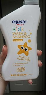 Tonight SALE only never opened kids peach tear free body wash and shampoo