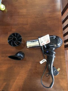 Conair 1875 Hair Dryer with 2 Diffusers
