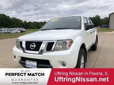 2016 Nissan Frontier SE V6 (Glacier White)