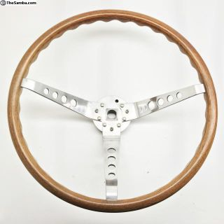 Formula? EMPI Speedwell Style wood Steering wheel