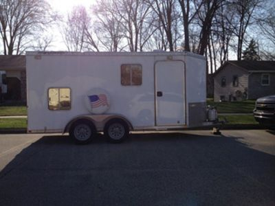 2011 Featherlite All Aluminum Utility/Travel Trailer