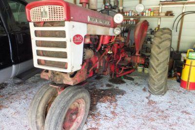 international ih farmall 340