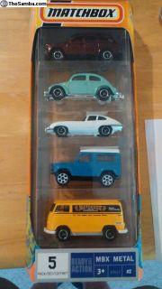 Matchbox MBX Metal 5 car set