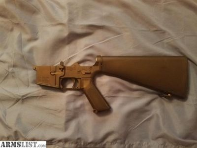 For Sale: Brownells M16A1 AR15 A1 Complete Lower Receiver