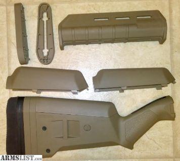 For Sale: Magpul Remington 870 SGA MOE MLOK FDE